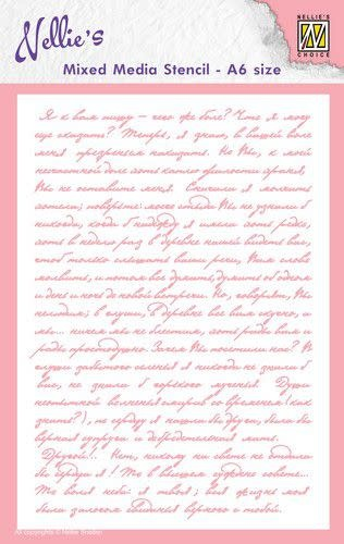 Nellie's choice Nellie's Choice Mixed Media Stencils Tekst