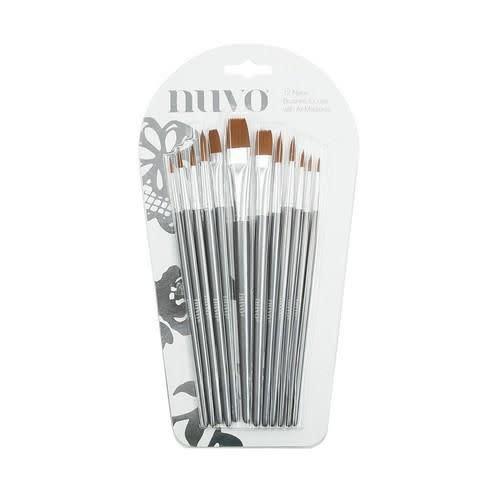 Nuvo Nuvo 12 nylon penselen