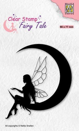 Nellie's choice Nellie's Choice Clearstamp silhouette Fairy Tale Nr 36