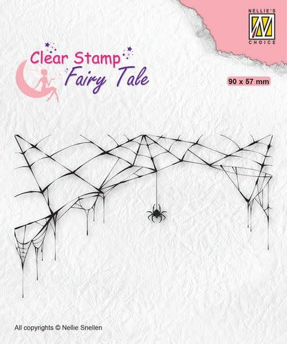 Nellie's choice Nellie's Choice Clearstamp silhouette Fairy Tale Nr 24