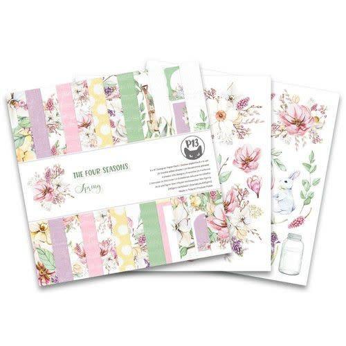 """Piatek 13 Piatek13 - Paper pad The Four Seasons - Spring 6x6"""""""