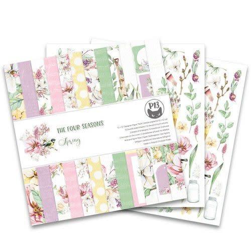 """Piatek13 Piatek13 - Paper pad The Four Seasons - Spring 12x12"""""""