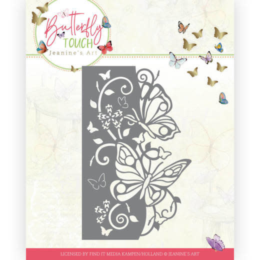 Jeanine's art Dies - Jeanine's Art - Butterfly Touch - Butterfly Edge