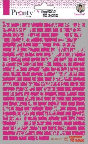 Pronty Pronty Mask stencil A5 Bricks