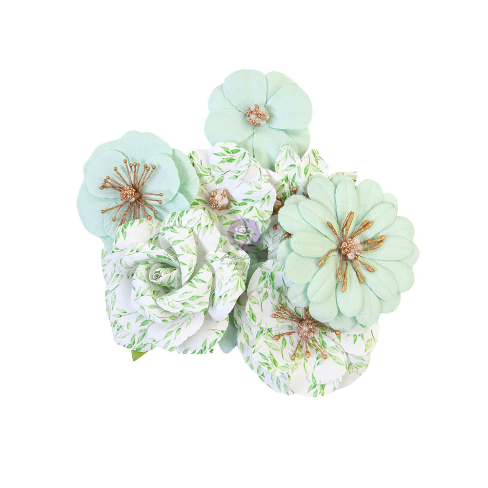 Prima Marketing Prima Marketing Watercolor Floral Flowers Minty Water (653132)