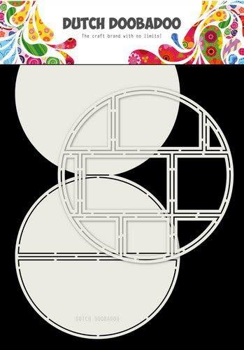 Dutch Doobadoo Dutch Doobadoo Card Art Easel card Cirkel 2st