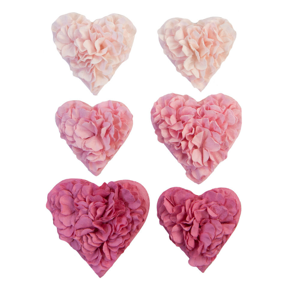 Prima Marketing Prima Marketing With Love Flowers All The Hearts (650988)