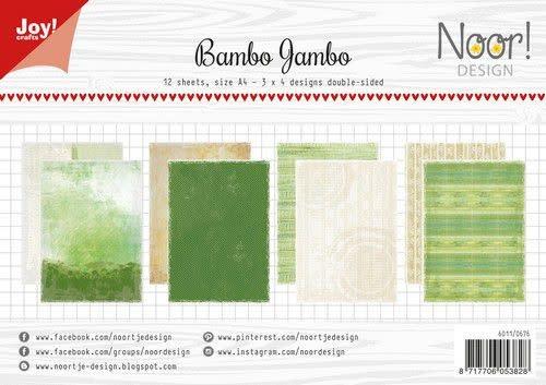 Joy! Crafts Papierset - Noor - Design Bambo jambo 12vl