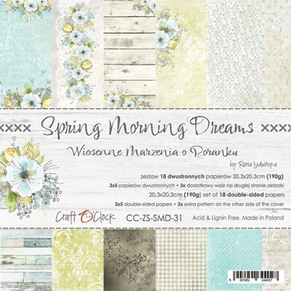 craftoclock spring morning dreams 20.3x20.3