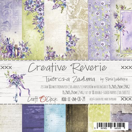 craftoclock creative reverie 15.2x15.2