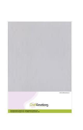 CraftEmotions CraftEmotions Transparante sheets A5 1PK/ 10VL