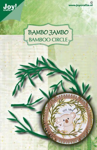 Joy!Crafts Joy! Crafts Stans-embosmal - Noor - Bamboe cirkel 6002/1629