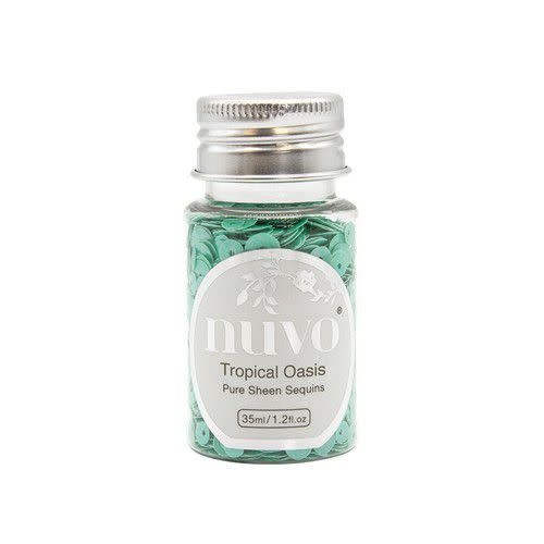 Nuvo Nuvo Pure sheen sequins - tropical oasis 35ml bottle 1147N