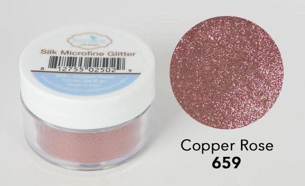 Elisabeth craft design Copper Rose - Silk Microfine Glitter