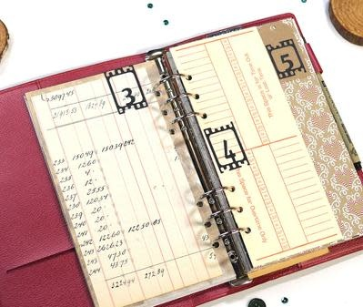 Elisabeth craft design Planner Essentials 17 - Filmstrip Numbers