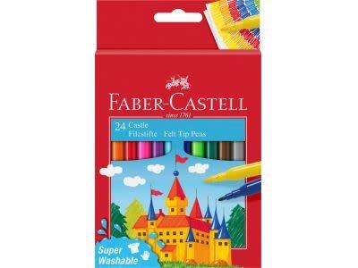 Faber Castell Kleurstift Faber Castell set à 24 stuks assorti