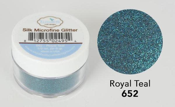 Elisabeth craft design Royal Teal - Silk Microfine Glitter