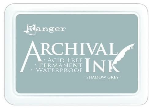 Ranger Ranger Archival Ink pad - shadow grey