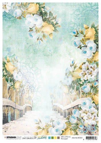 Studio Light Studio Light Rice Paper Jenine's New Awakening nr.01 JMA-NA-RICE01 A4