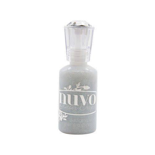 Nuvo Nuvo Glitter drops - silver crystals 774N