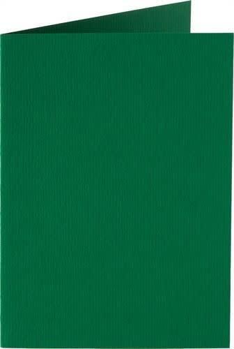 Papicolor Dub. kaart vierk. 13,2cm dennengroen 200gr-CV 6 st