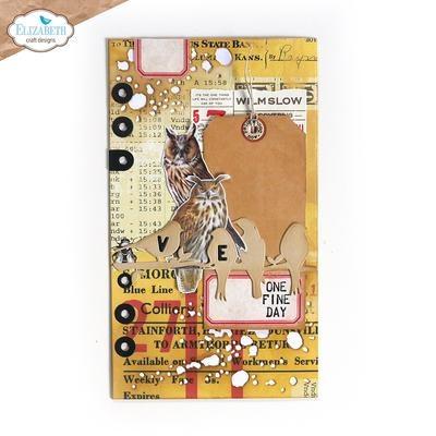 Elisabeth craft design Planner Essentials 38 - Birds on Splatter Page 1864