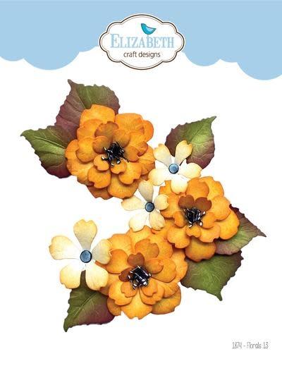 Elisabeth craft design Florals 13 1874