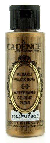 Cadence Cadence Gilding Metallic acrylverf Majestueus goud 01 035 0112 0070 70 ml