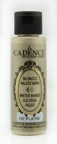 Cadence Cadence Gilding Metallic acrylverf Platina 01 035 0107 0070 70 ml