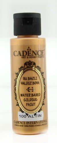 Cadence Cadence Gilding Metallic acrylverf Goud 01 035 0100 0070 70 ml