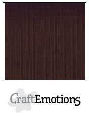 CraftEmotions CraftEmotions linnenkarton chocolade A4