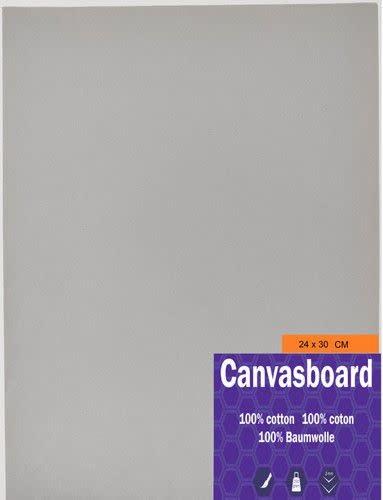 CraftEmotions Canvasboard 24x30CM 3 mm