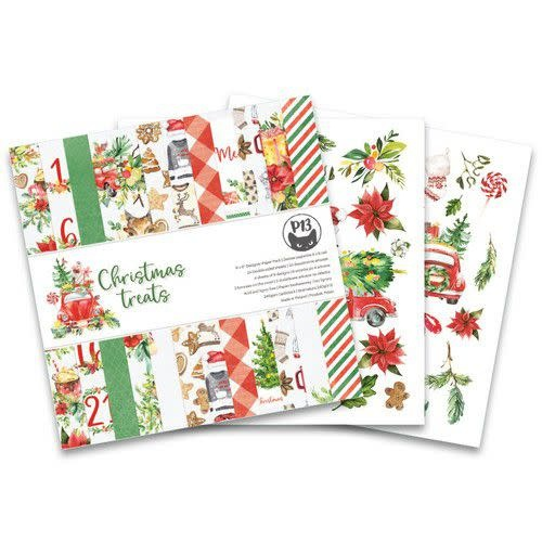 Piatek 13 Piatek13 - Paper pad Christmas treats P13-CHT-09 6x6