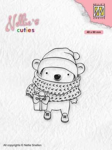 Nellie's choice Nellies Choice Clearstamp - Christmas Cuties - Koala NCCS012