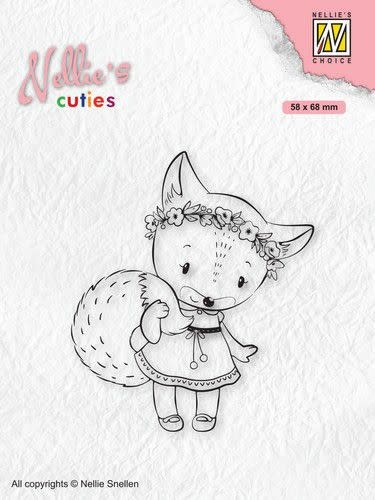 Nellie's choice Nellies Choice Clearstamp - Christmas Cuties - Vos NCCS014