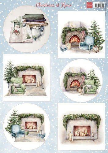 Marianne D Marianne D Decoupage Kerst thuis