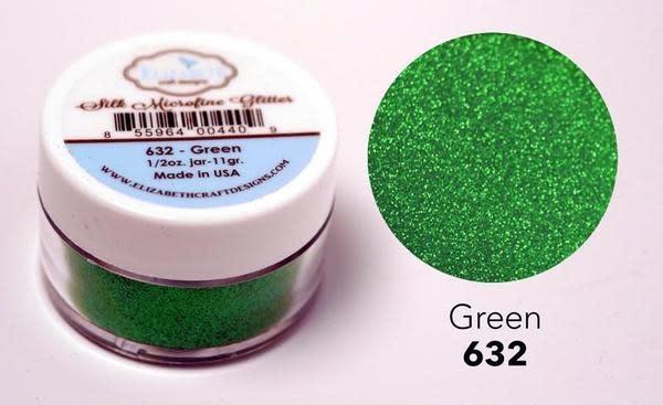 Elisabeth craft design Green - Silk Microfine Glitter