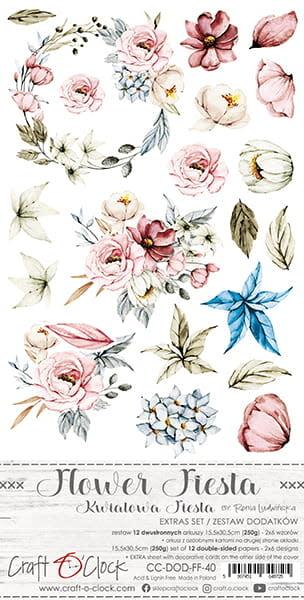 craftoclock FLOWER FIESTA - EEN SET ACCESSOIRES