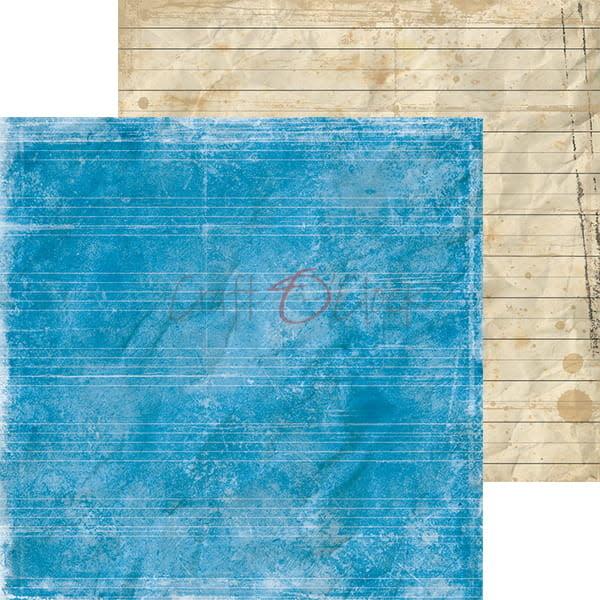 craftoclock CY01 - SCHOOLAVONTUREN - EEN SET PAPIEREN 20,3 X 20,3 CM
