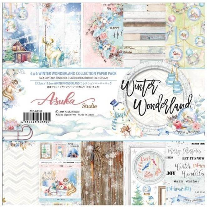 Asuka Memory Place Winter Wonderland 6x6 Inch Paper Pack (MP-60319)