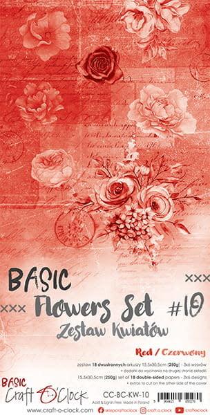 craftoclock BASIC - FLOWERS - SET 10 - EXTRAS SET