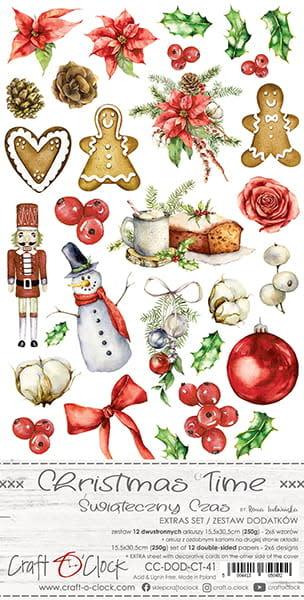 craftoclock CHRISTMAS TIME - EXTRAS SET