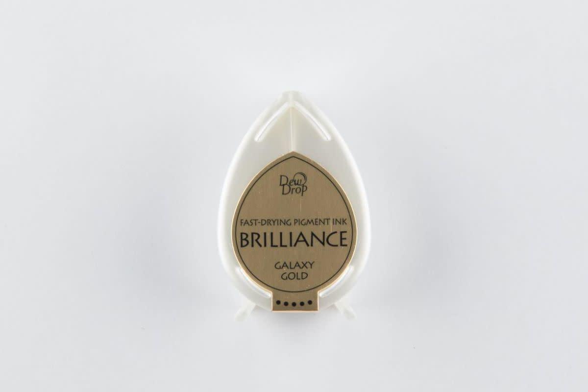 Brilliance Brilliance Dew Drop inktkussen Galaxy Gold BD-000-091