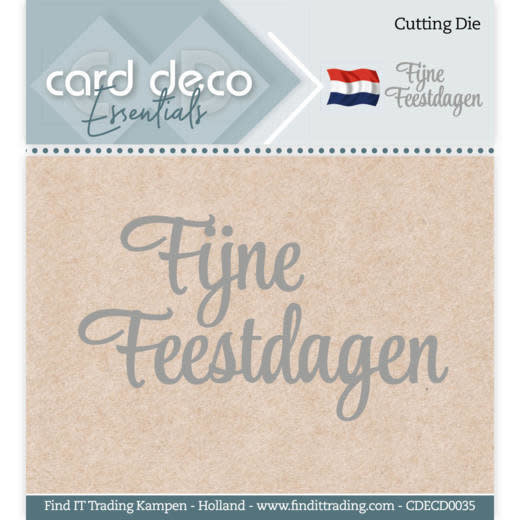 Card deco Card Deco Essentials - Cutting Dies - Fijne Feestdagen