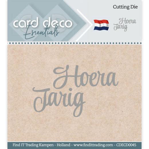Card deco Card Deco Essentials - Cutting Dies - Hoera Jarig