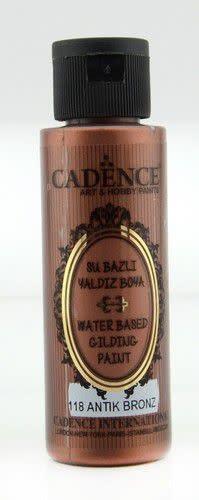 Cadence Cadence Gilding Metallic acrylverf Antiek Brons 01 035 0118 0070 70 ml