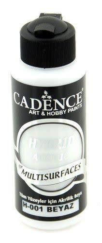 Cadence Cadence Hybride acrylverf (semi mat) Wit 01 001 0001 0120 120 ml