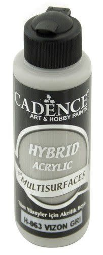 Cadence Cadence Hybride acrylverf (semi mat) Mink grijs 01 001 0063 0120 120 ml