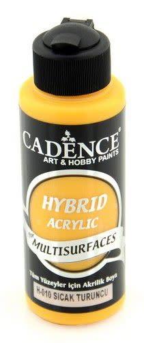 Cadence Cadence Hybride acrylverf (semi mat) Warm oranje 01 001 0010 0120 120 ml