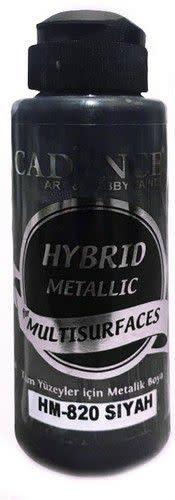 Cadence Cadence Hybride metallic acrylverf (semi mat) Zwart 01 008 0820 0120 120 ml